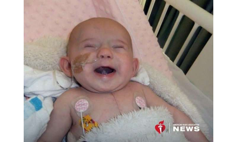 AHA: 8-year-old beats the odds against heart and brain birth defects