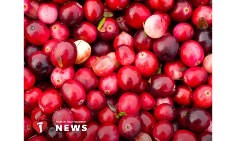 AHA: be thankful for cranberries' health benefits all year long