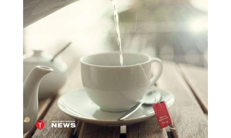 AHA: can a daily cup of tea do a heart good?