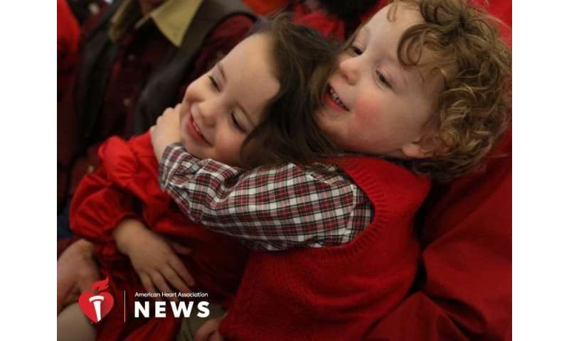 AHA: startling these twins could put  their hearts at risk