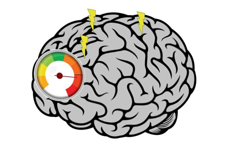 A heavy working memory load may sink brainwave 'synch'
