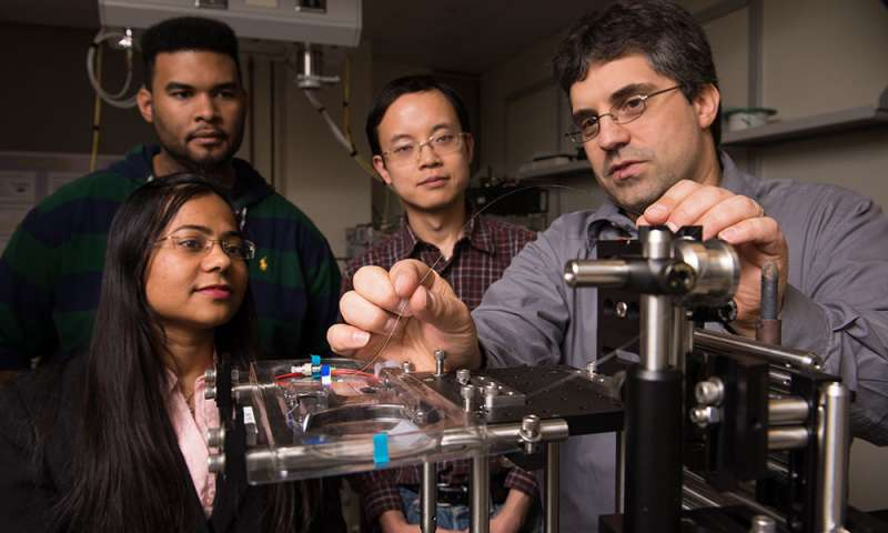 A laser focus on super water-repellent metals