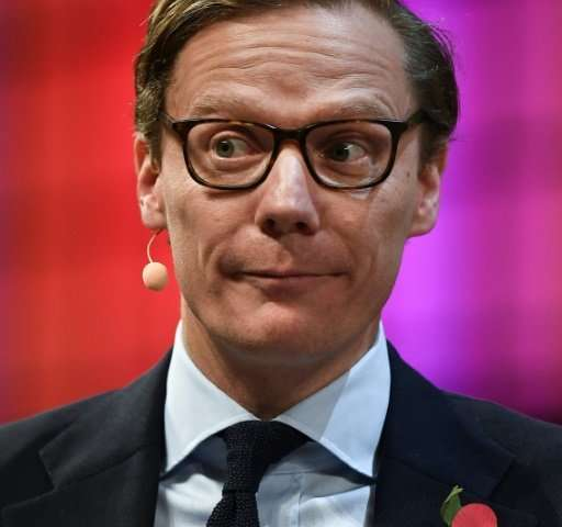 Alexander Nix is chief executive of Cambridge Analytica, which has denied misusing Facebook data for its work on Donald Trump's