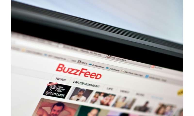 All 14 staff at BuzzFeed France, which like its US equivalent publishes both viral content such as quizzes and traditional news