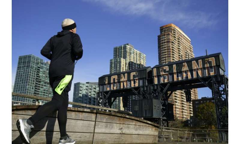 Amazon agreed to build new headquarters sites in the Long Island City neighborhood of the Queens borough of New York City, seen