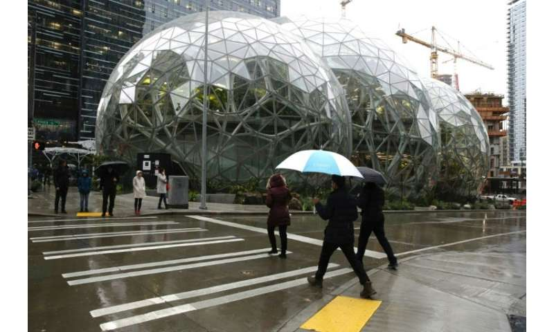 Amazon opens plant-filled