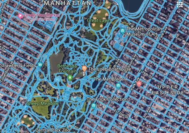 A new way to build road maps from aerial images automatically