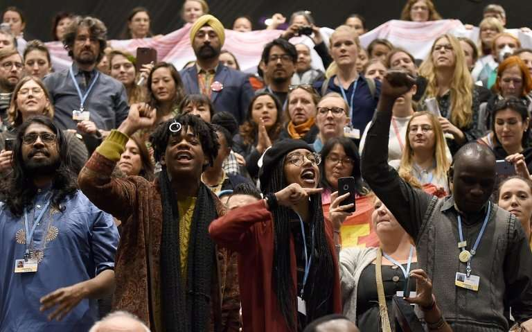 A number of protests were held in and around the COP24 climate talks, as activists demanded immediate action from lawmakers