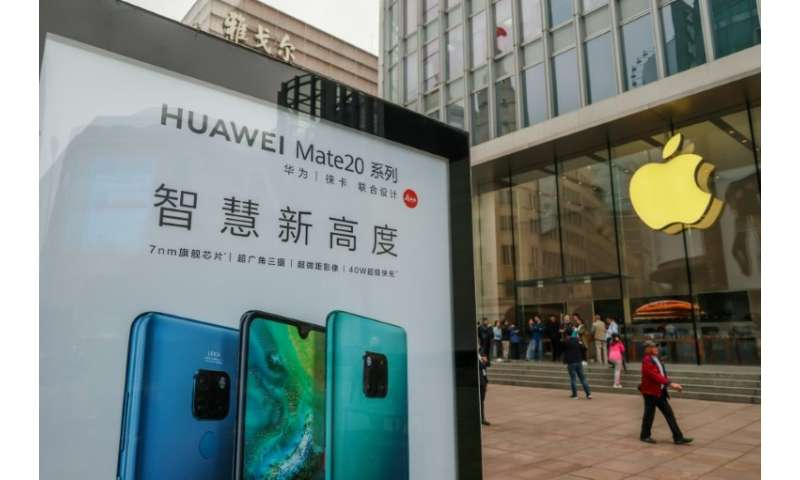 Any iPhone ban would give Chinese smartphone brands, such as Huawei, a big opportunity