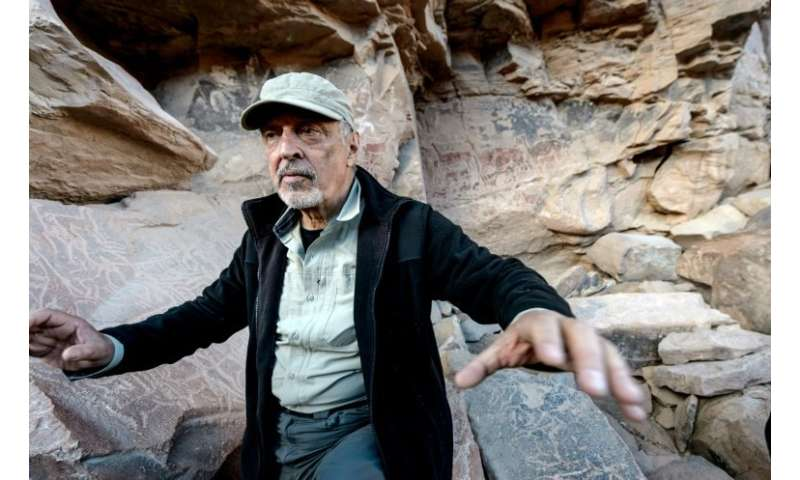 "Archeologist Jose Berenguer says the Taira rock art is the most ""beautiful and complex"" in Chile"