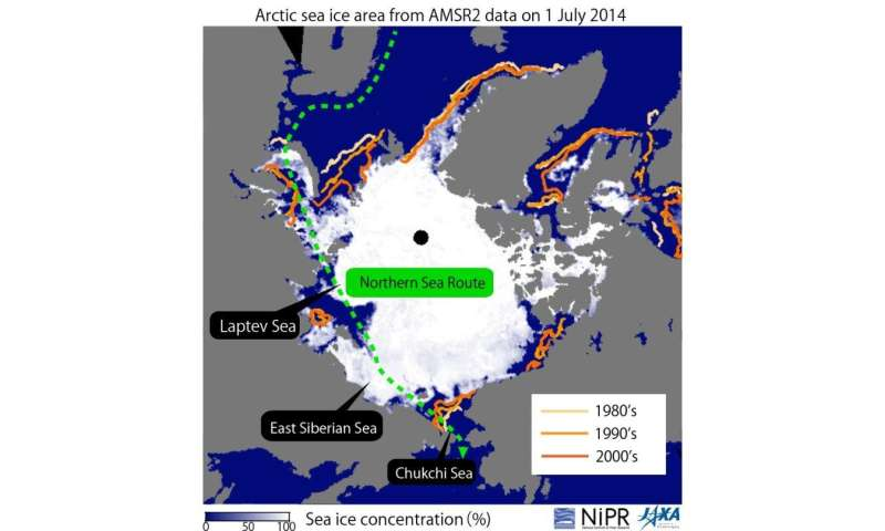 Arctic cyclone limits the time-scale of precise sea-ice prediction in Northern Sea Route?
