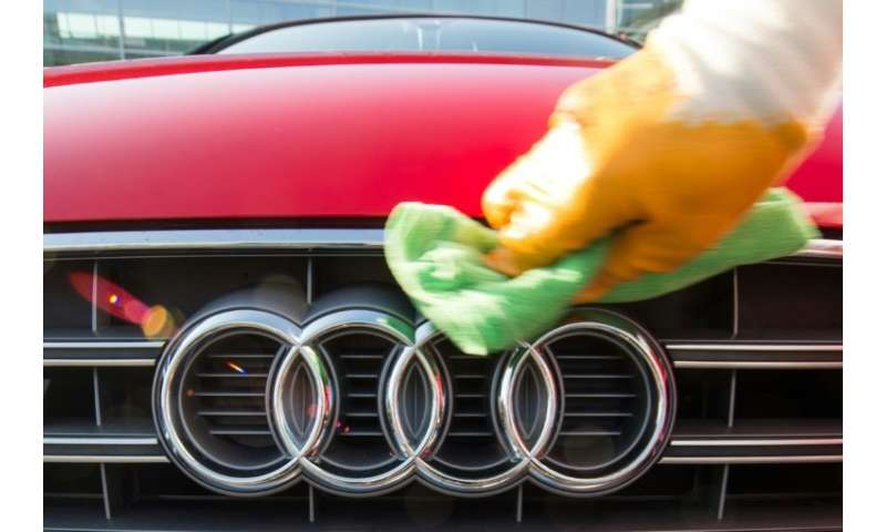 A report citing Munich prosecutors says Audi has been more than polishing its image after a claim employees modified test result