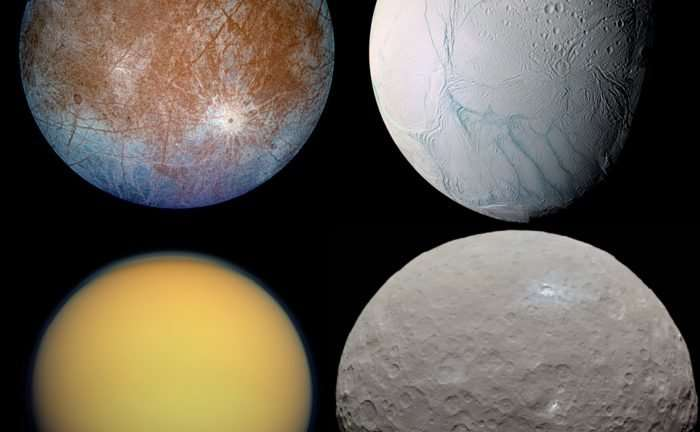 Are there enough chemicals on icy worlds to support life?