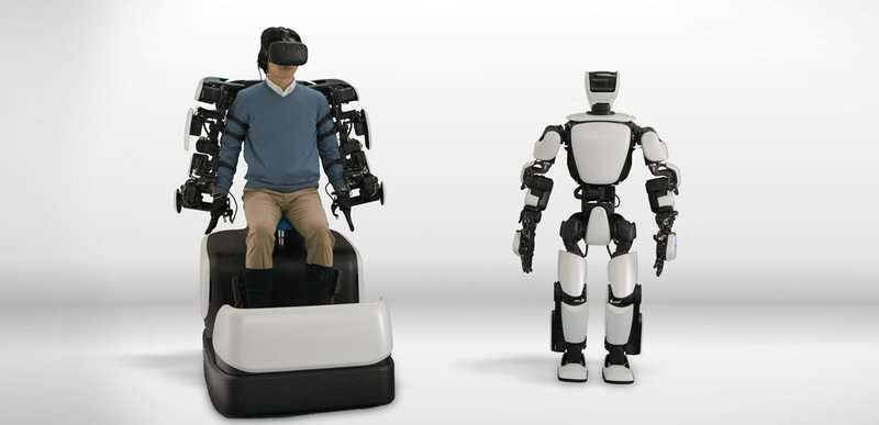As I move, it moves: Toyota's humanoid robot will rock in action mode