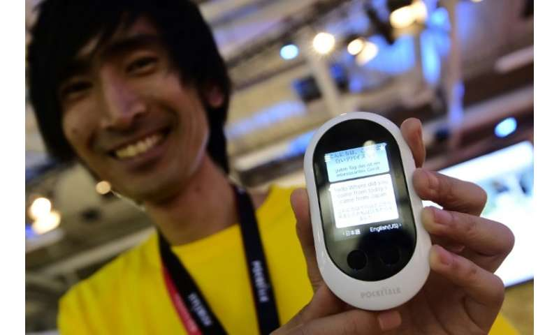 A smile never hurts, but this device could help save frustrations on many foreign holidays