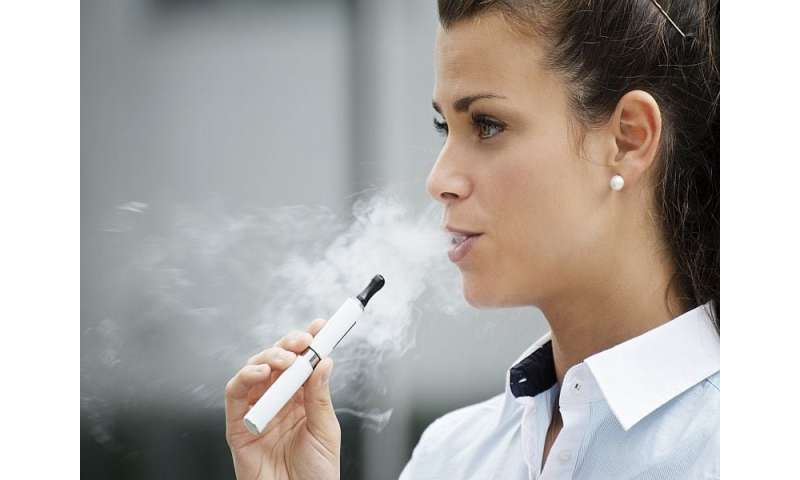 As vaping became popular among young, smoking rates fell