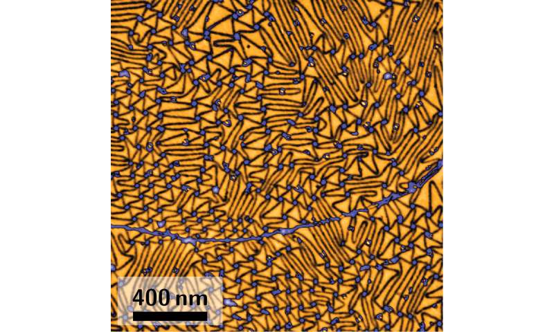 Atoms use tunnels to escape graphene cover
