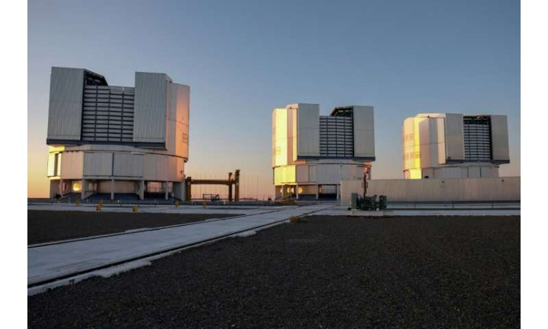 At the Paranal Observatory deep in the Atacama desert, staff are doing all they can to limit light leaking out into the atmosphe