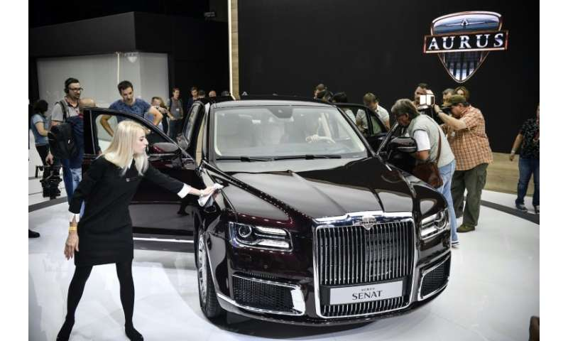 Aurus, the makers of President Vladimir Putin's new limousine, unveiled two models aimed at Russia's super rich