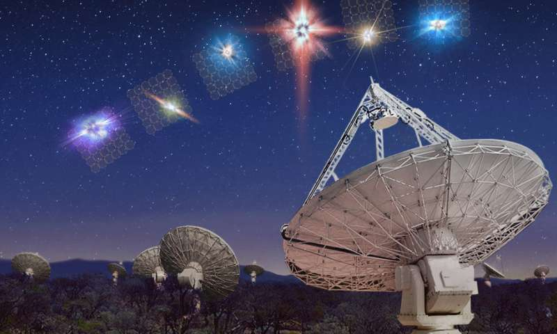 Aussie telescope almost doubles known number of mysterious 'fast radio bursts'