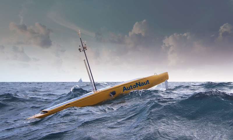 Automated sea vehicles for monitoring the oceans