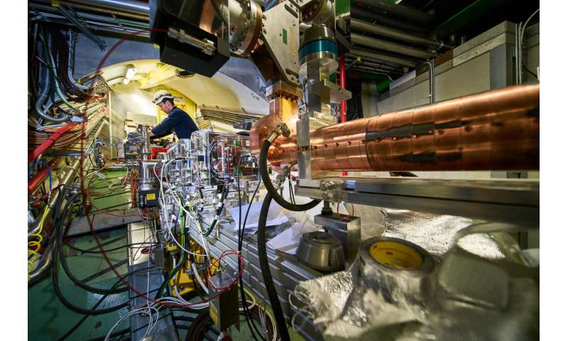 AWAKE successfully accelerates electrons