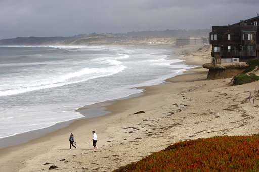 Beaches open after sewage spill on California Central Coast