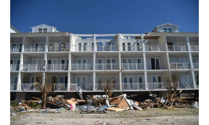 Beachfront properties suffered the worst damage in Mexico Beach