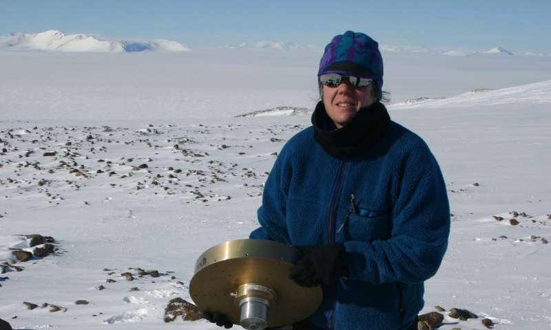 Bedrock in West Antarctica rising at surprisingly rapid rate