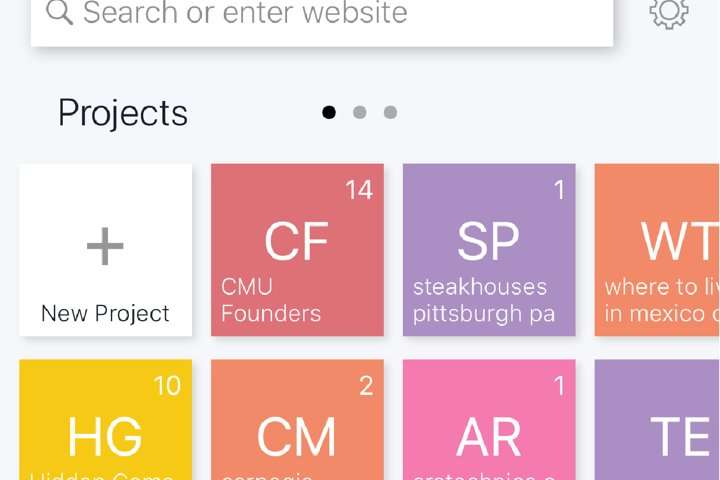 Bento browser makes it easier to search on mobile devices