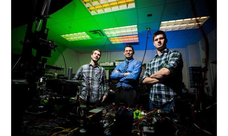 Better than a hologram: Research produces 3-D images floating in 'thin air'