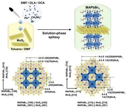 Beyond conventional solution-process for 2-D heterostructure