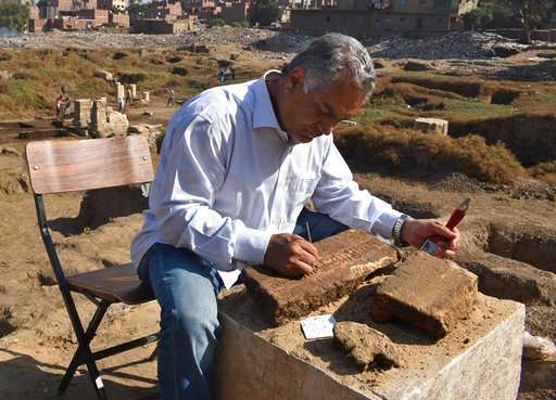 Blocks found in Egypt bear name of famed pharaoh's builder