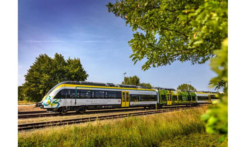 Bombardier electric hybrid train to keep Germany's green ambitions on track