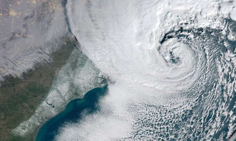 'Bomb cyclones' – the intense winter storms that hit the US (and Australia too)