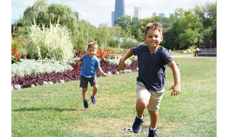 Boys identify more strongly with their peers than others