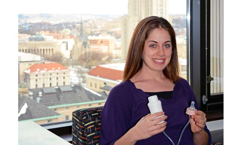 Bringing MomTech to life: Pitt Engineering professor designs a gadget to help moms breastfeed