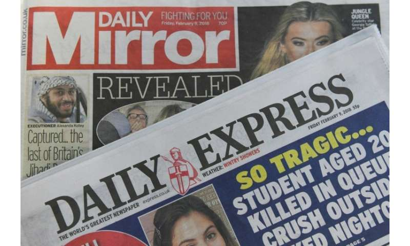 Britain's left-wing Daily Mirror and the right-wing Daily Express will keep their identities despite having the same owner