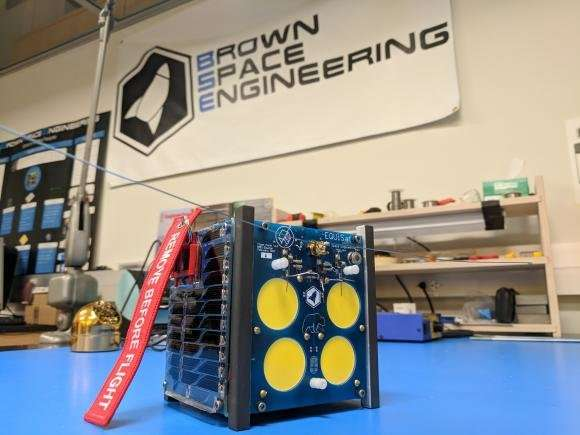 Brown's student satellite to be deployed from ISS into orbit