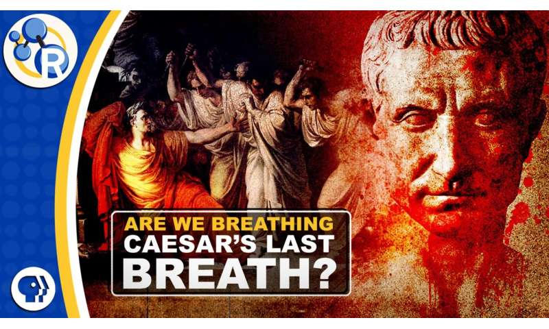 Caesar's last breath and Einstein's lost fridge (video)