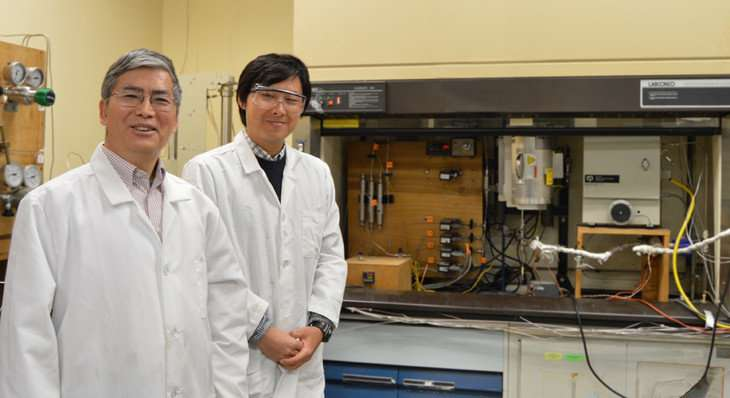 Carbon dioxide-to-methanol process improved by catalyst
