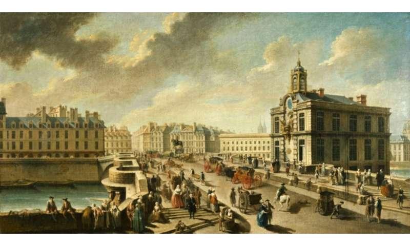 Car-free Paris? It was already a dream in 1790
