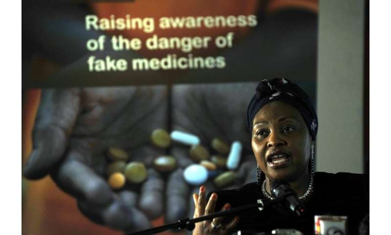 Celebrities have joined the fight against fake medications, including South African singer Yvonne Chaka