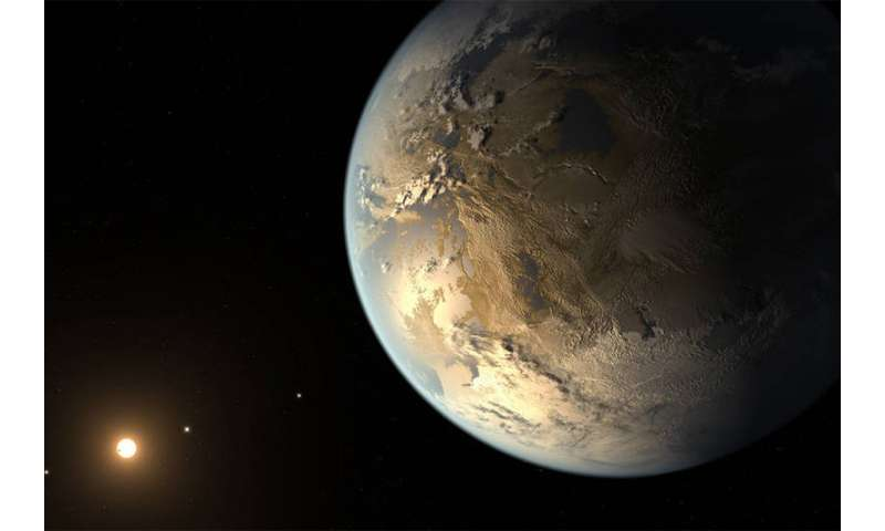 Charged oxygen in ionosphere may offer biomarker for exoplanets