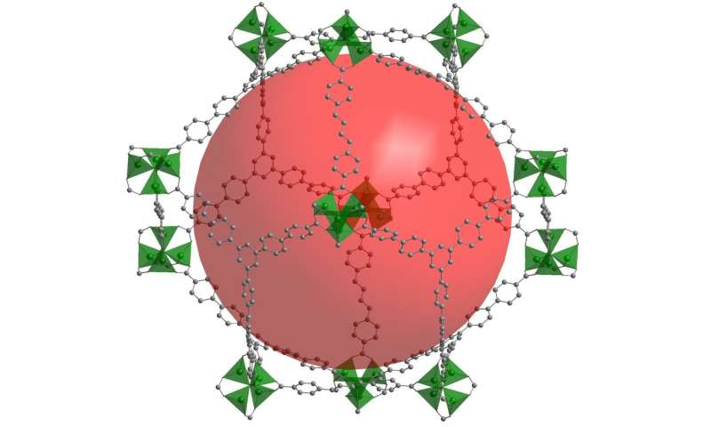 Chemists of TU Dresden develop highly porous material, more precious than diamonds