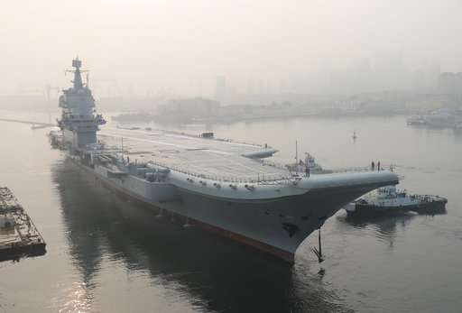 China first home-built aircraft carrier completes sea trials