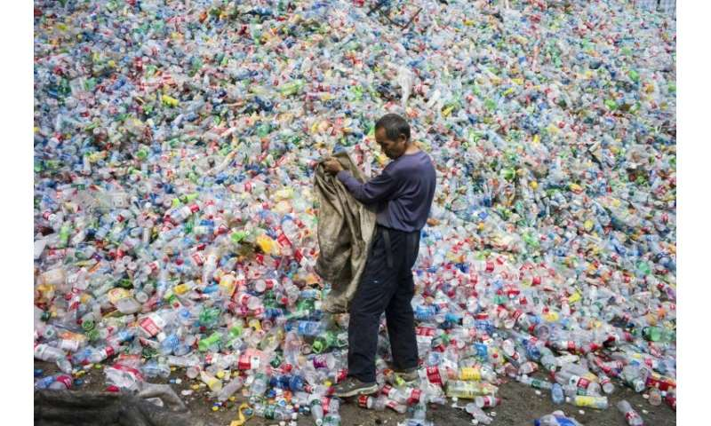 China has long been the world's dumping ground for waste, with Europe and North America exporting millions of tonnes of recyclab