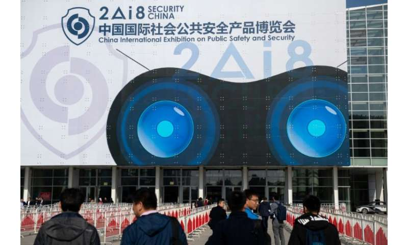 China spent an estimated 1.24 trillion yuan on domestic security in 2017, a 12.4 percent increase from the year before