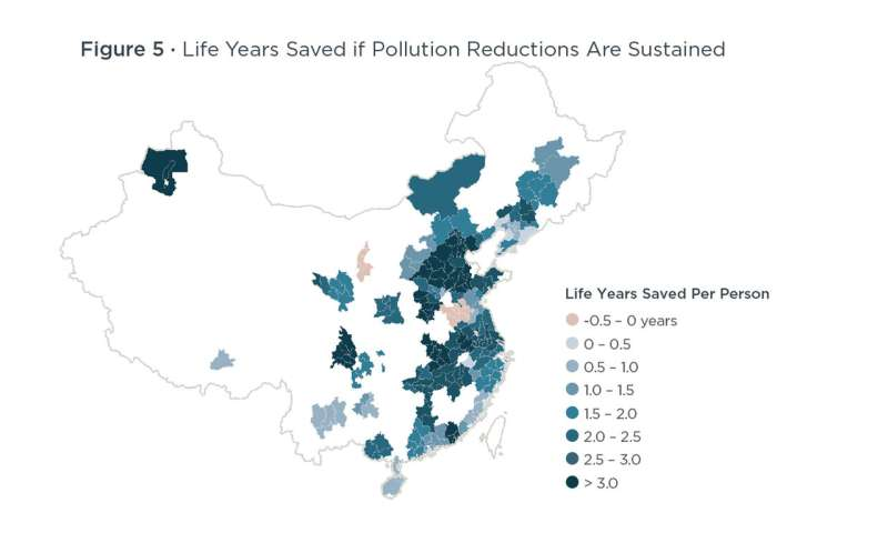 China's 'war against pollution' shows promising results, study finds