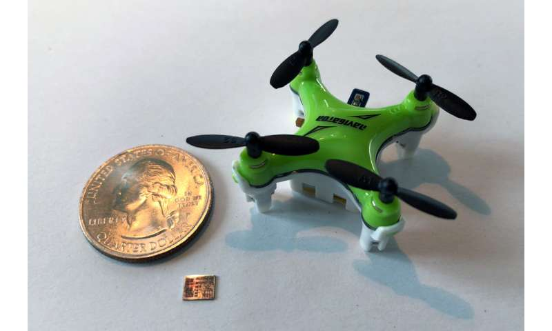 Chip upgrade helps miniature drones navigate